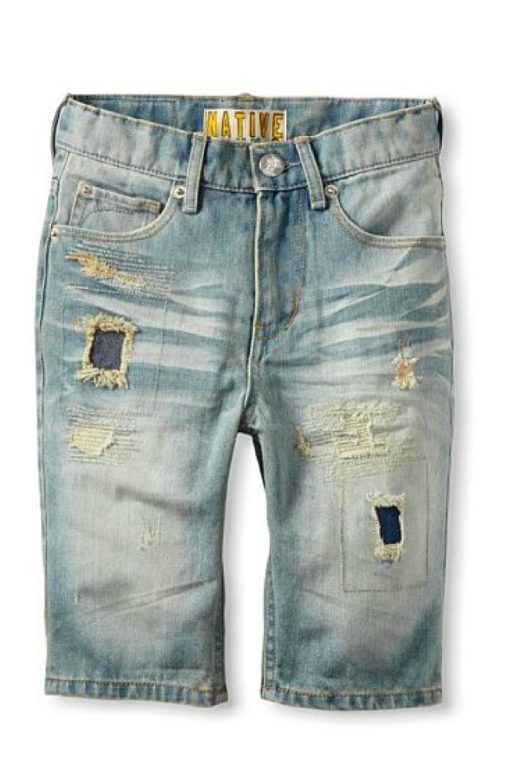 Beth Friedman Kid Capri Jeans - Front Cropped Image
