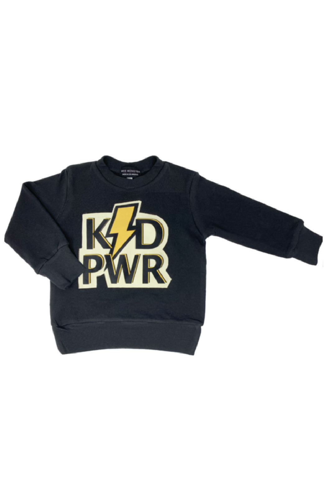 Wee Monster KID PWR Sweatshirt - Front Cropped Image