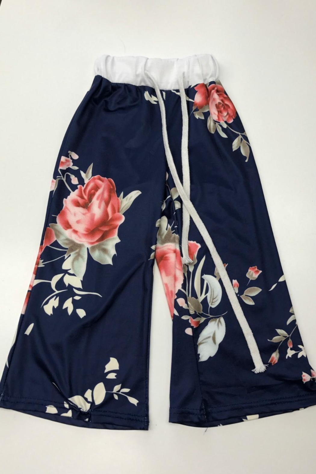 Lady's World Kid's Floral Pants - Main Image