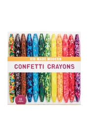 Kid Made Modern Confetti Crayons - Product Mini Image