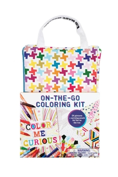 Shoptiques Product: On-The-Go Coloring Kit