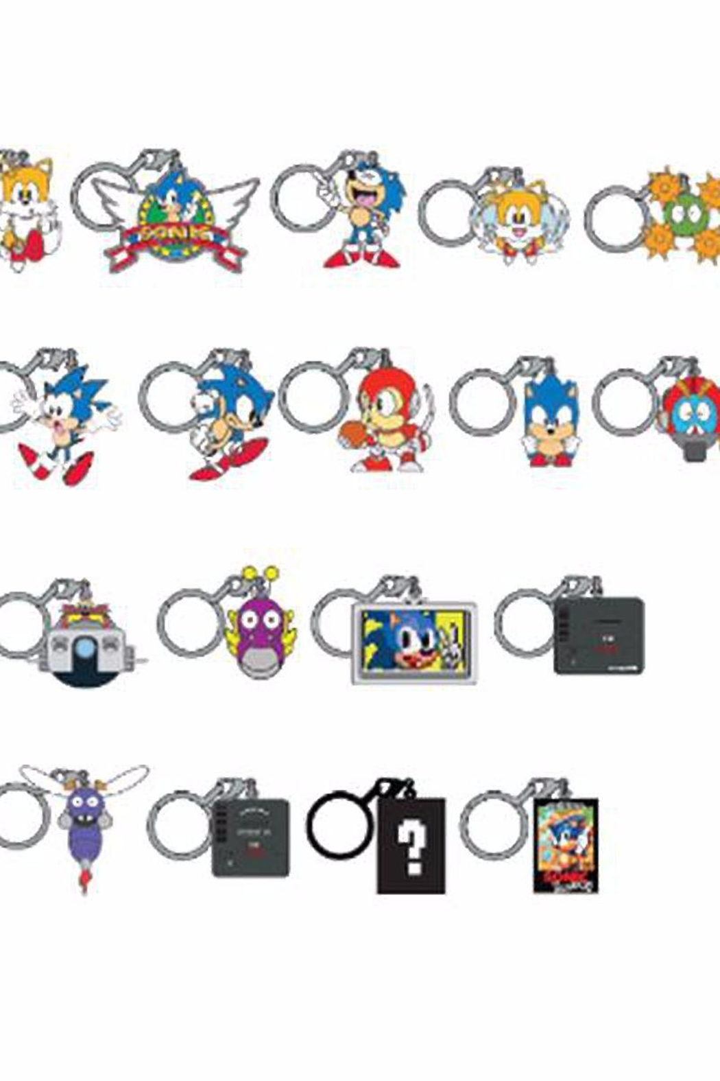 Kidrobot Sonic Hedgehog Keychains From Canada By Mindzai Shoptiques