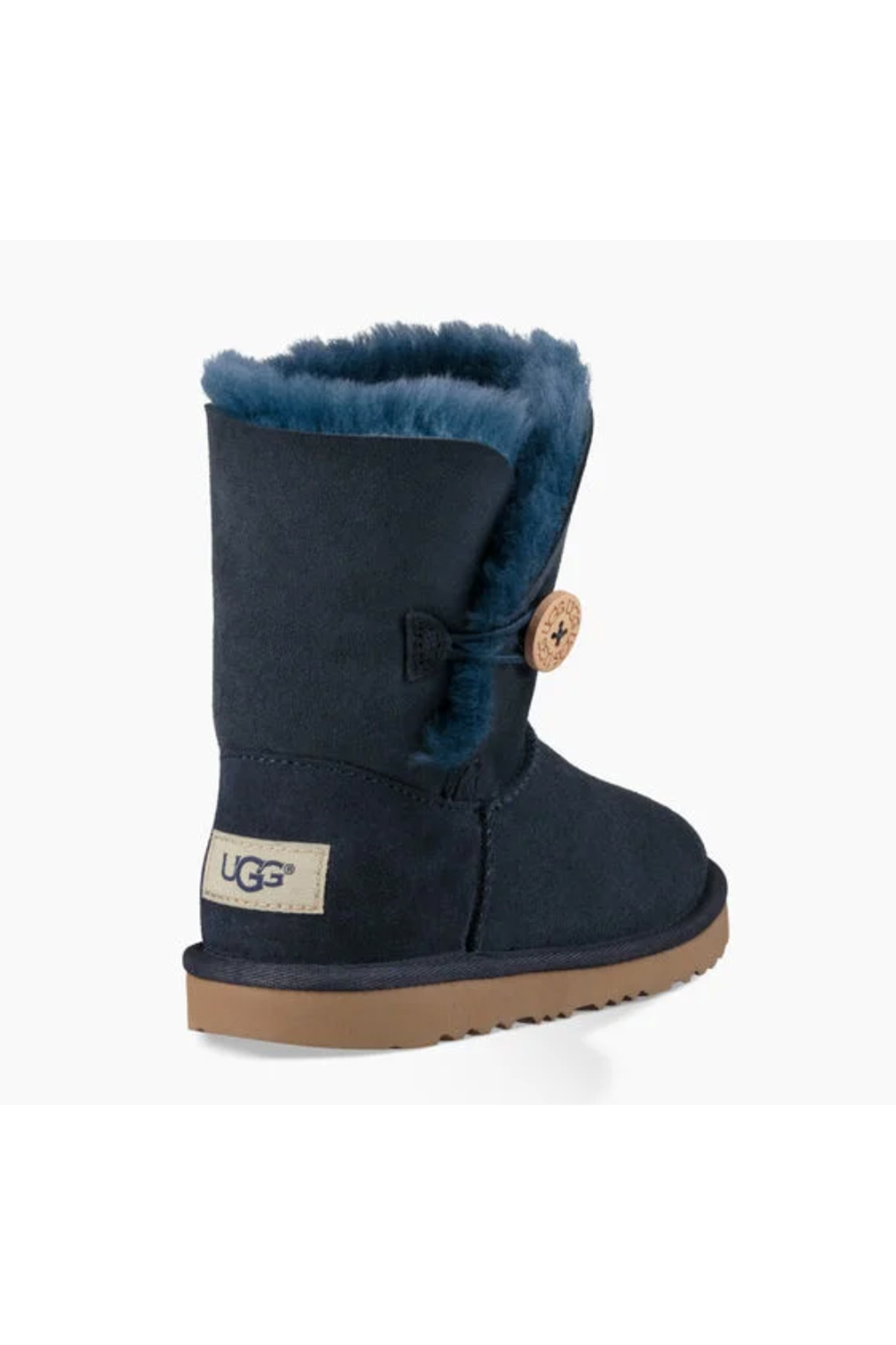 Ugg Kids Bailey Button II Boot - Back Cropped Image
