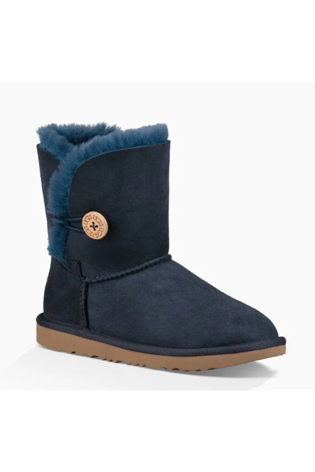 Ugg Kids Bailey Button II Boot - Front Full Image