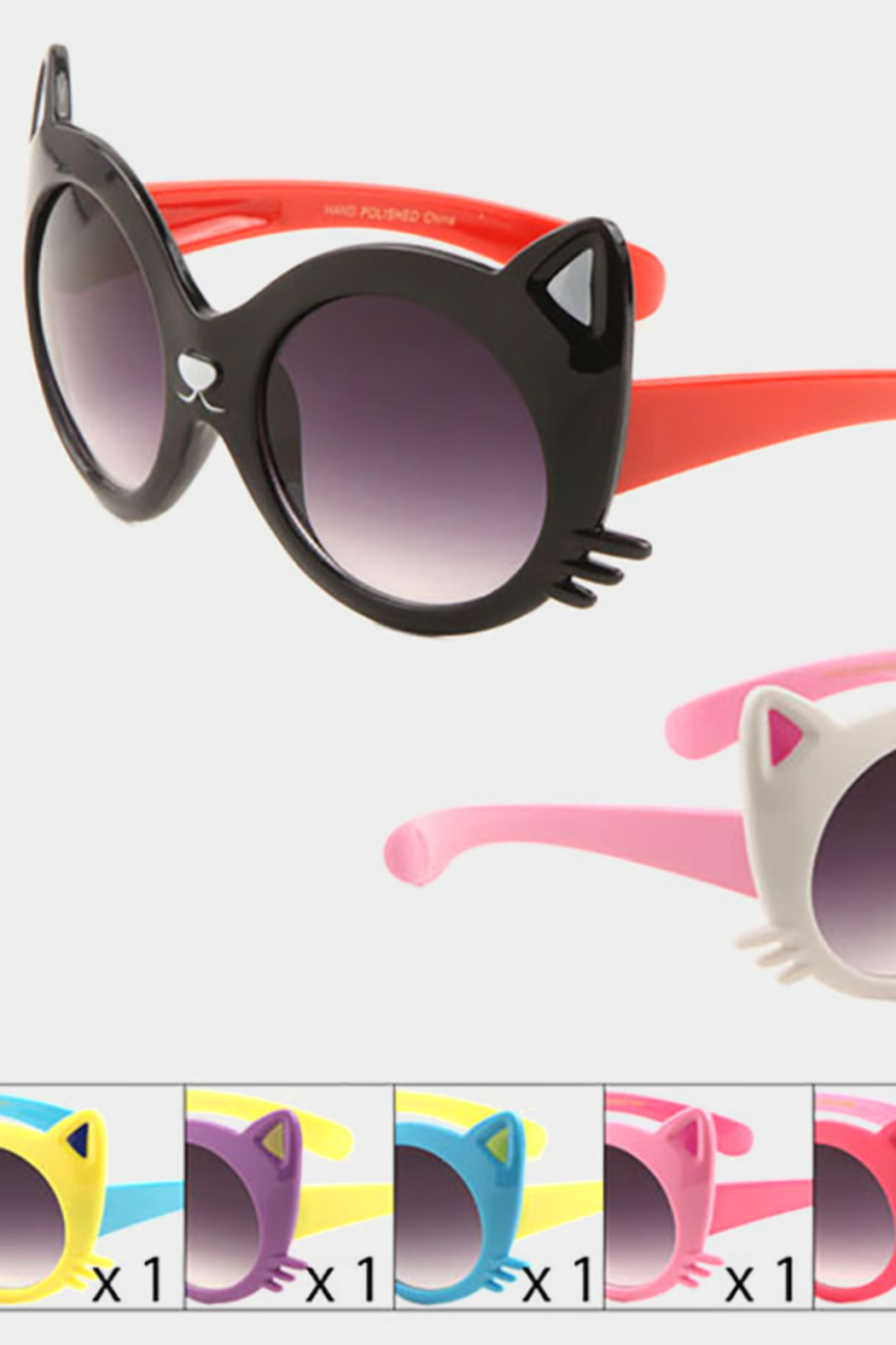 Lyn -Maree's Kids Cat Sunglasses - Main Image