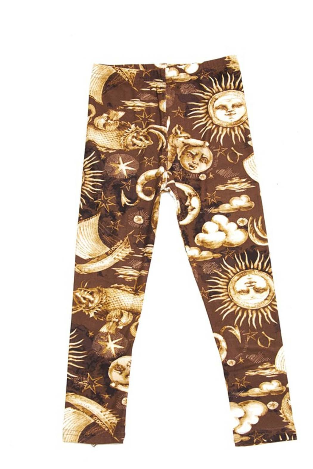 New Mix Kids Celestrial Legging - Front Cropped Image