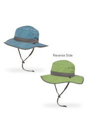 Sunday Afternoons Kids Clear Creek Boonie Reversible Sunhat - Bluestone/Aloe - Product Mini Image