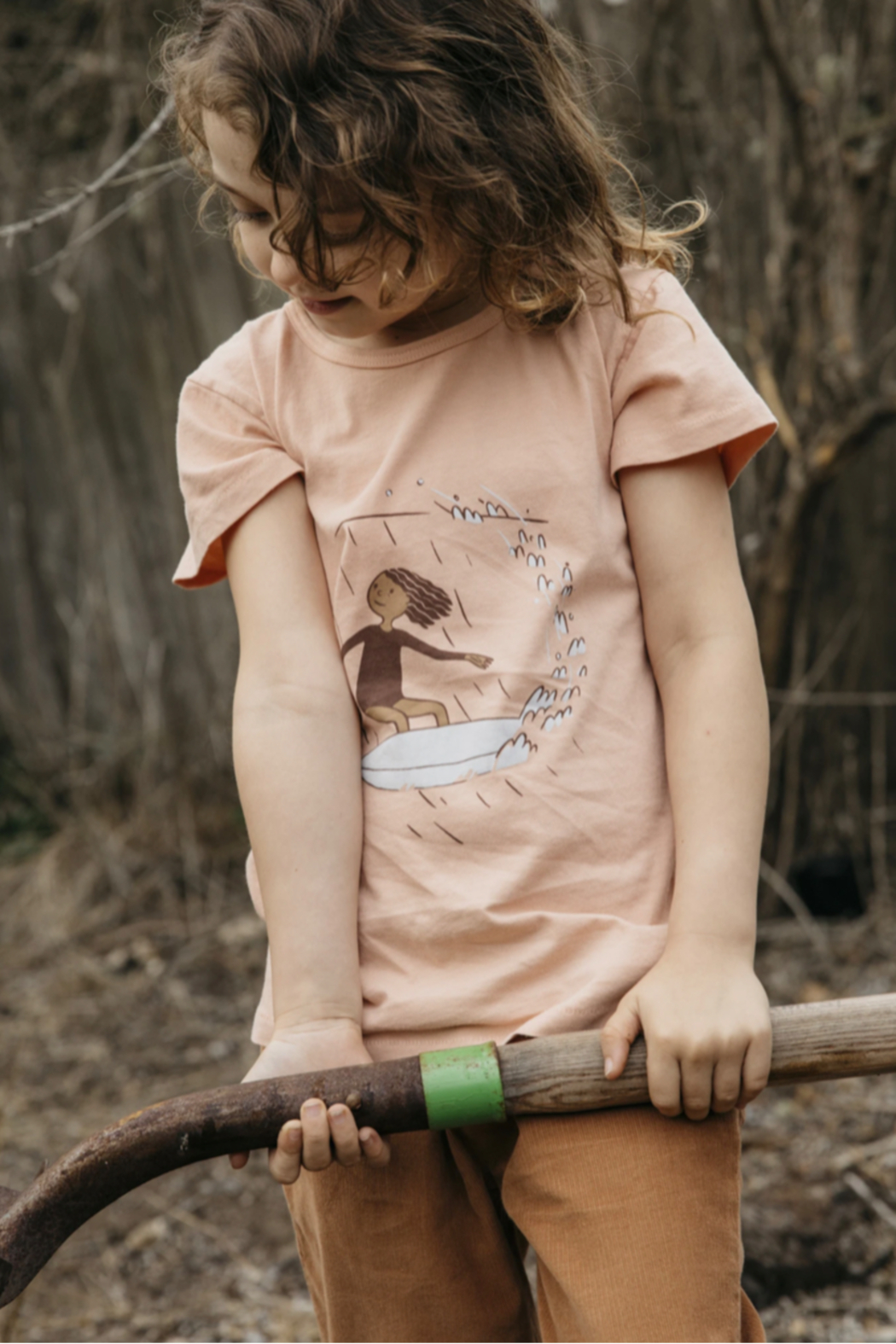 Mollusk Kids Cutback Tee - Front Full Image