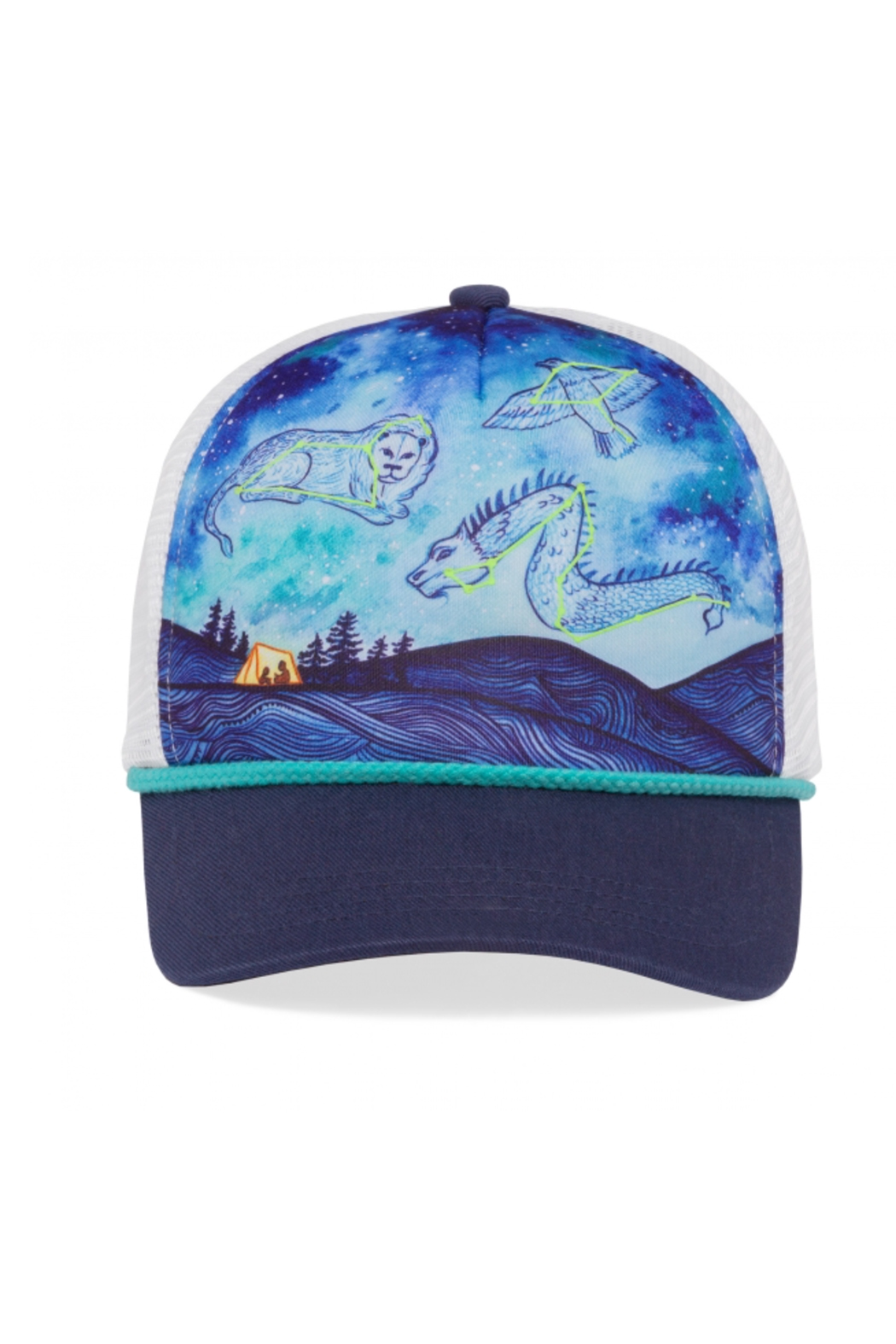Sunday Afternoons Kids Dreaming Sky Trucker Hat - Main Image