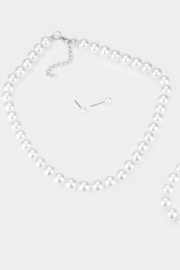 Lyn-Maree's  Kids Faux Pearl Necklace - Product Mini Image