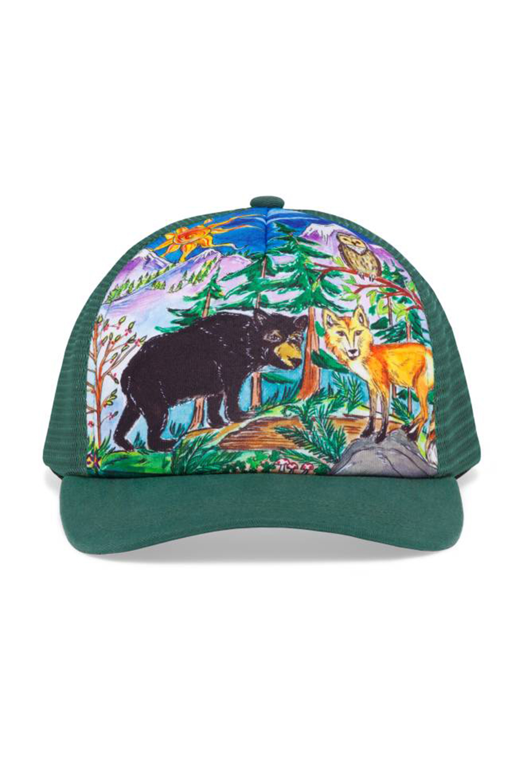Sunday Afternoons Kids Forest Friends Trucker Hat - Main Image