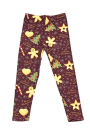 New Mix Kids Gingerbread Legging - Product Mini Image