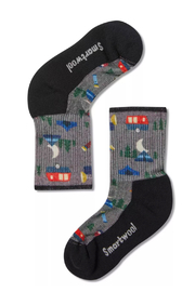 Smartwool Kids Hike Light Summer Nights Crew Socks - Product Mini Image