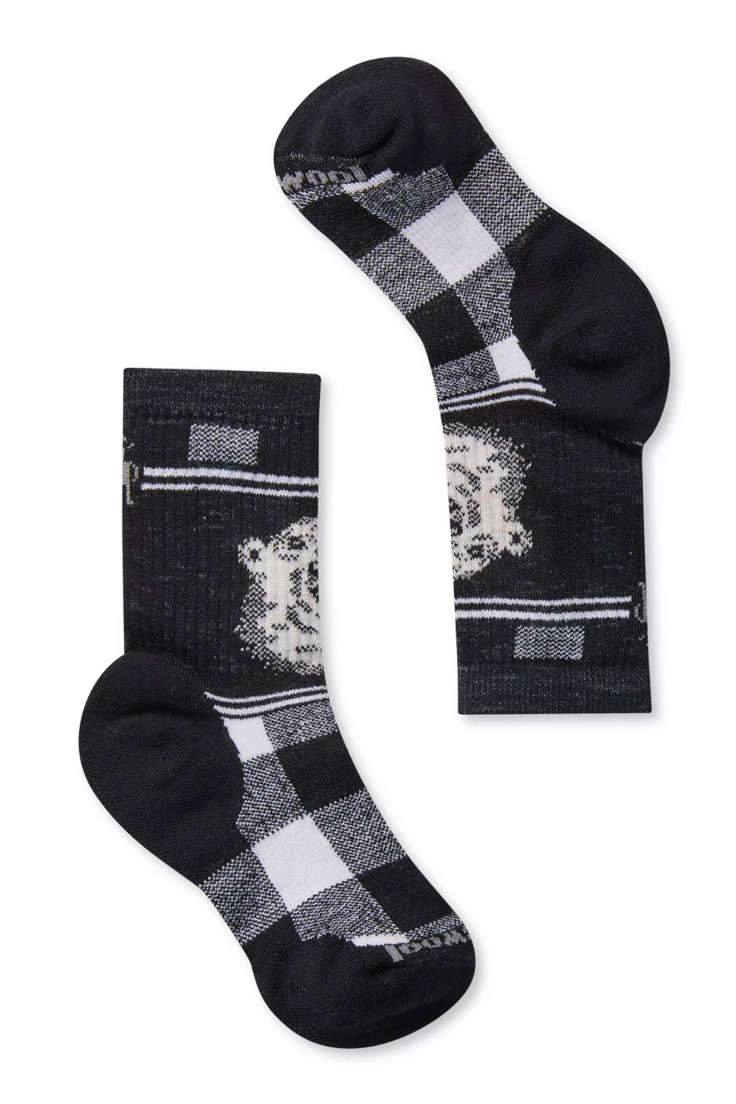 Smartwool Kids' Hike Medium Polar Bear Crew Socks - Main Image