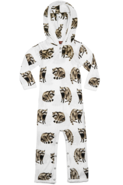 Milkbarn Kids Kids Hooded Romper - Product List Image