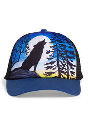 Sunday Afternoons Kids Howling Moon Trucker Hat - Front cropped