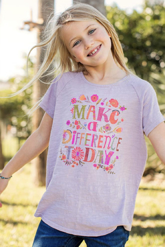 Natural Life Kids Make a Difference Tee - Product List Image