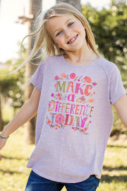 Natural Life Kids Make a Difference Tee - Product Mini Image