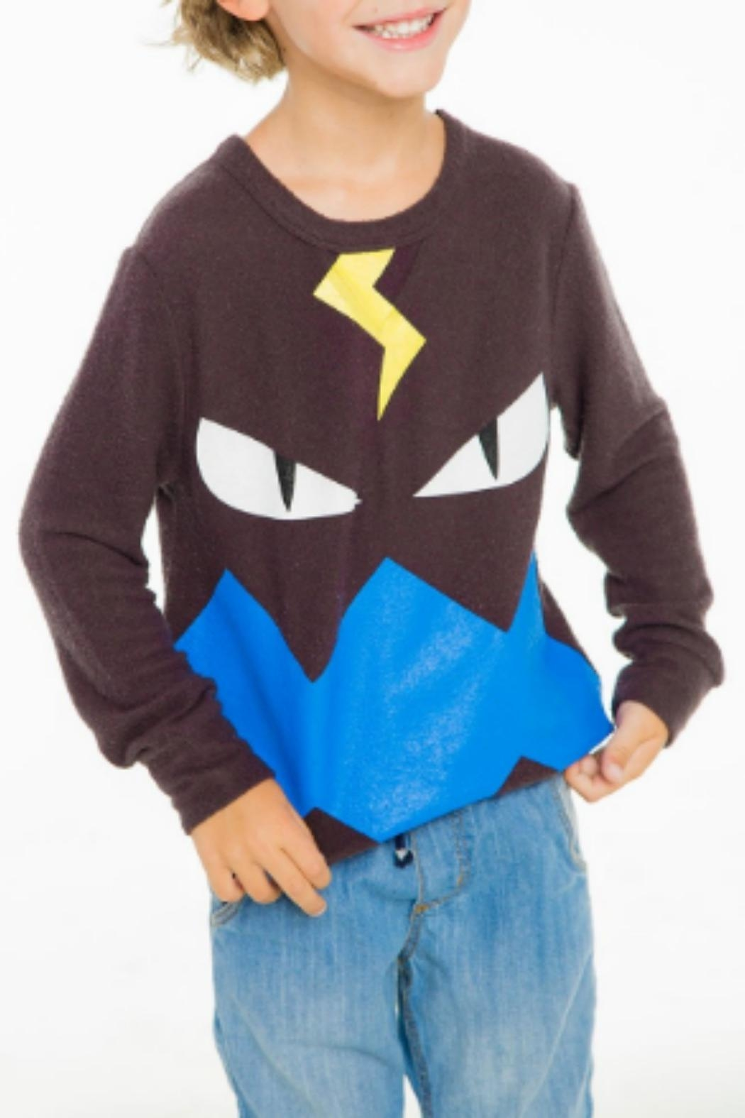 Chaser Kids Monster Sweater - Front Cropped Image