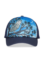 Sunday Afternoons Kids Night Owl Trucker Hat - Product Mini Image