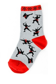 Foot Traffic Kids Ninja Sox's - Product Mini Image