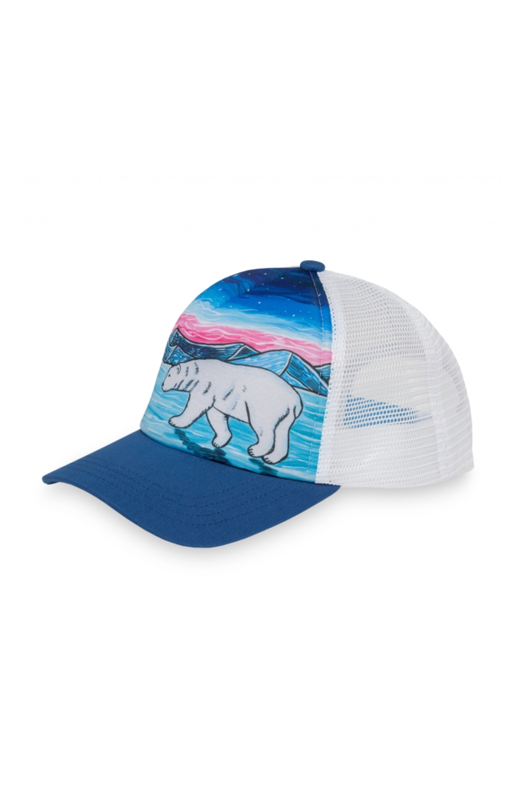 Sunday Afternoons Kids Polar Bear Trucker Hat - Side Cropped Image