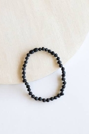 American Eco Baby Kids: Raw Black Amber Necklace - Product Mini Image