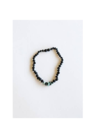 Canyon Leaf Kids: Raw Black Amber + Raw Turquoise Jasper - Product Mini Image