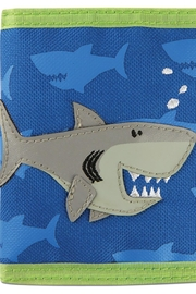 Stephen Joseph Kids Shark Wallet - Front cropped