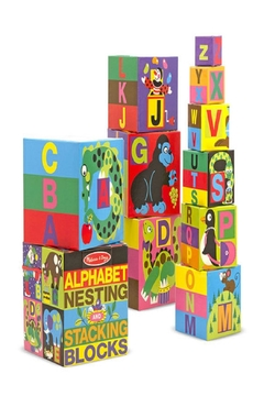Melissa and Doug Kids Stacking Blocks - Alternate List Image