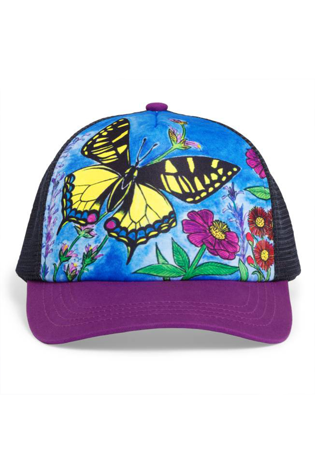 Sunday Afternoons Kids Swallowtail Trucker Hat - Main Image