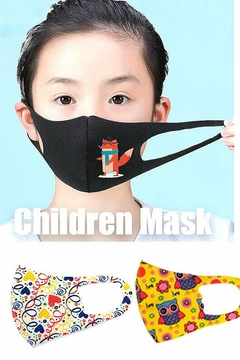 T & Tim Kids Toddler Reusable Washable Cloth Face Protection Cover Stretch Handmade Mask Flamingo - Alternate List Image