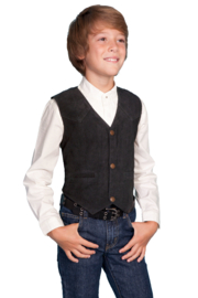 Scully Kids western Vest - Product Mini Image