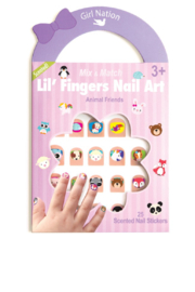 Girl Nation  Kidz Scented Nail Stickers - Product Mini Image