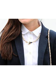 Shoptiques Product: Pearl Anchor Necklace