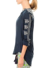 Gretchen Scott Kiev Hand Embroidered Top - Front full body