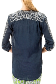 Gretchen Scott Kiev Hand Embroidered Top - Side cropped