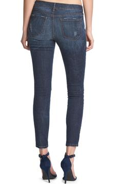 Shoptiques Product: Skinny Deconstructed Denim