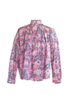 Alix of Bohemia Kiki Block Print Shirt - Product List Image