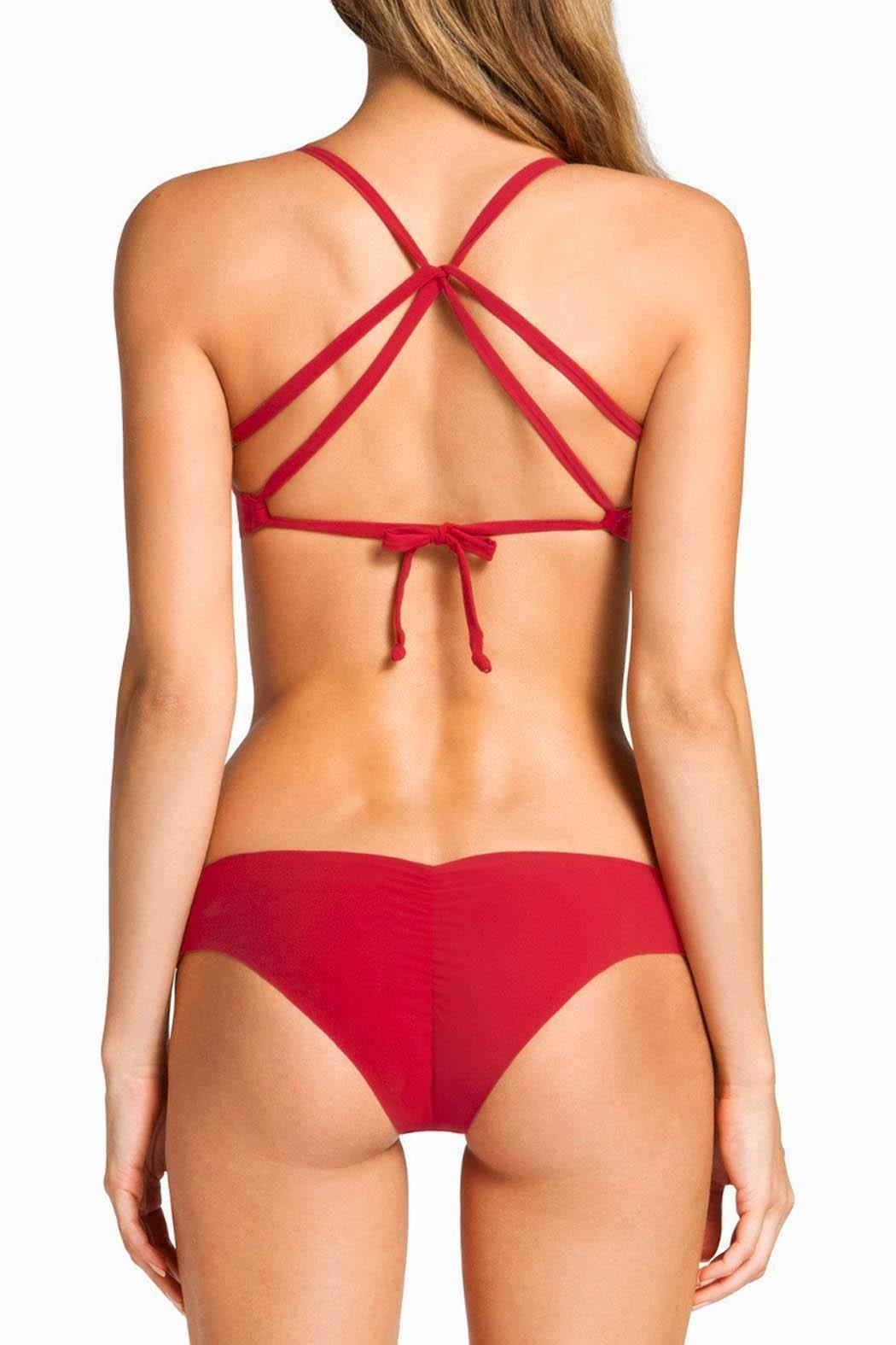 boys + arrows Kiki Bottom Red - Front Cropped Image