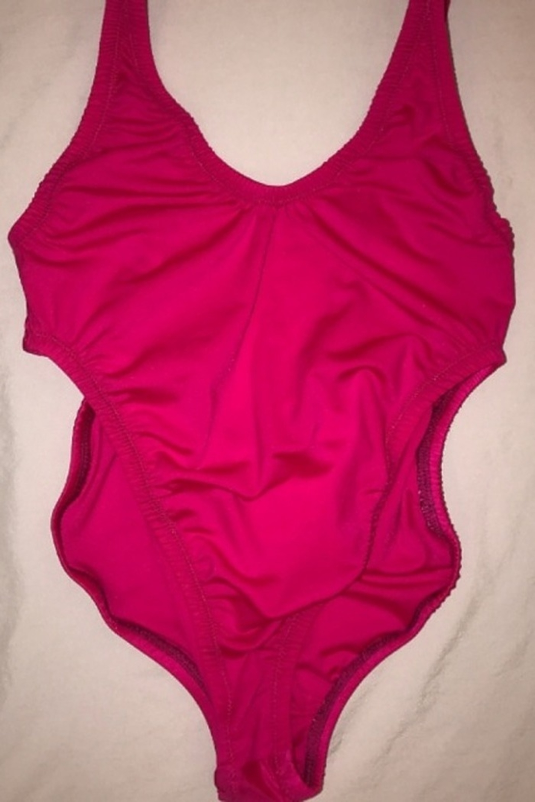 Tiny House of Fashion Kiki Pink Swimsuit - Front Cropped Image