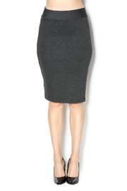 KIKI RIKI Charcoal Stretch Pencil Skirt - Product Mini Image