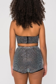 Kikiriki Rhinestone Bustier Top - Side cropped