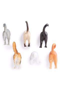 Kikkerland Cat Butt Magnets - Product List Image