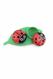 Kikkerland Ladybug Contacts Case - Product Mini Image