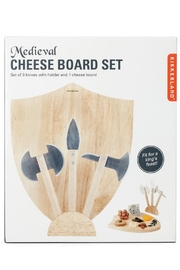 Kikkerland Medieval Cheese Board - Product Mini Image