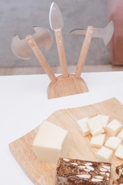 Kikkerland Medieval Cheese Board - Side cropped