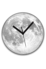 Kikkerland Moon Clock - Front cropped