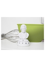 Kikkerland Design Beethoven Kitchen Timer - Front full body