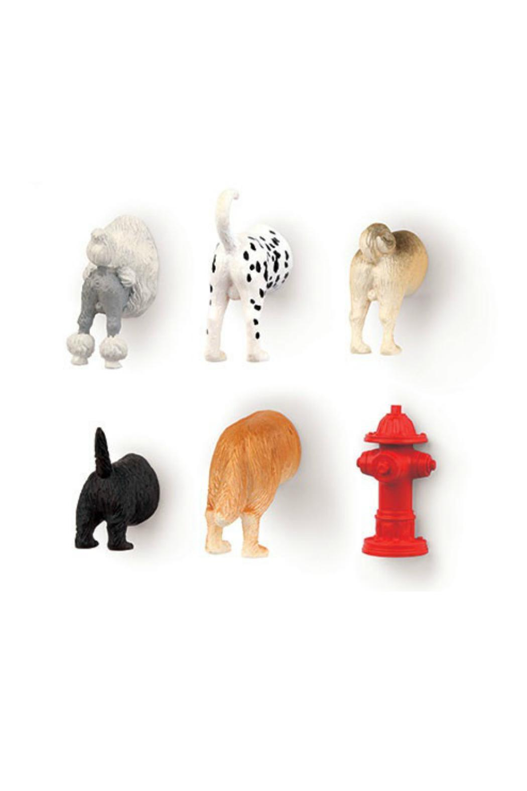Kikkerland Design Dog Butt Magnets - Front Cropped Image